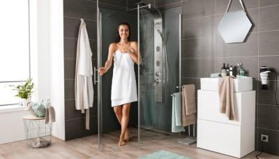 Návod na stavbu sprchové zástěny