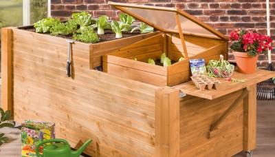 Postavte si vysoký záhon pro pohodlné pěstování zeleniny
