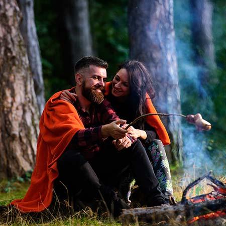Táborák může zapálit celý les